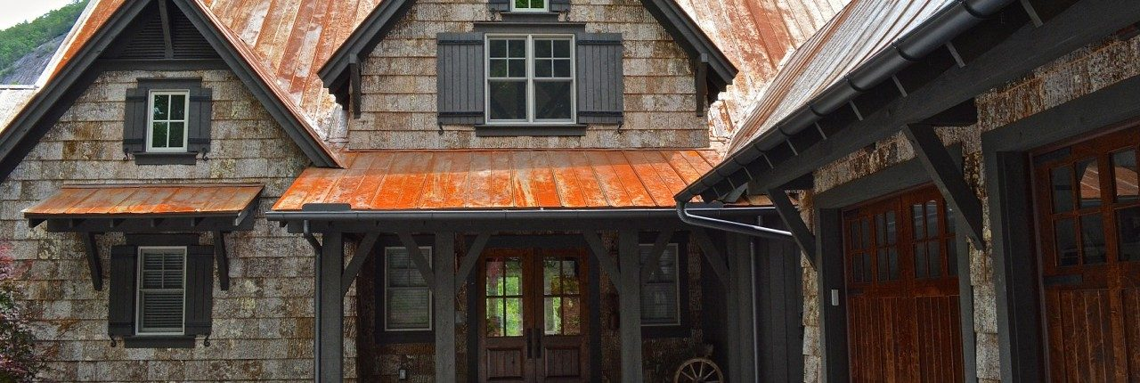 Natural Bark Siding In Waynesville Nc Wood Shakes In