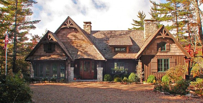 Poplar Bark Siding Hendersonville | BarkClad Exterior Home 2