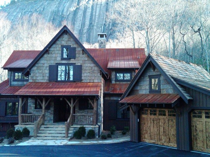 Natural Bark Siding Asheville | BarkClad Exterior Home 3