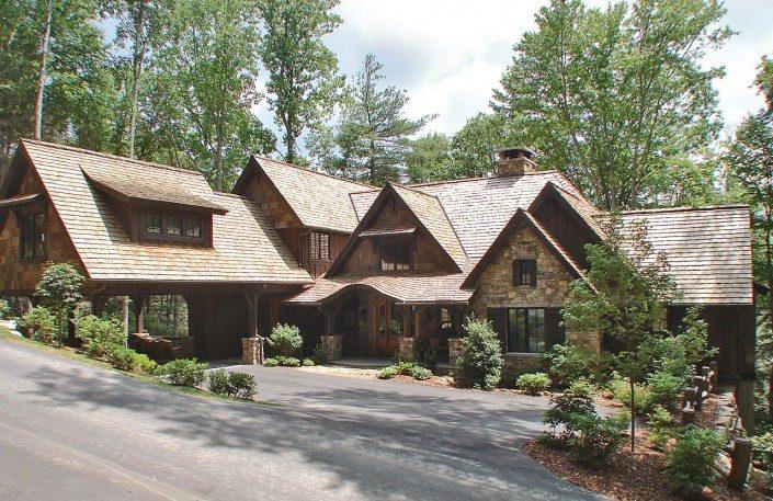 Faux Bark Waynesville | BarkClad Exterior Home 4