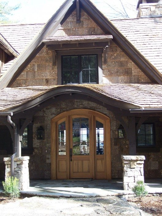 Poplar Bark Siding Hendersonville | BarkClad Exterior Home 6